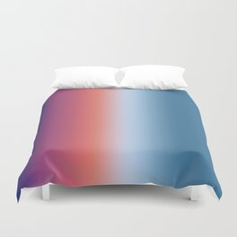 Ombre Clouds 1 Reversed Duvet Cover
