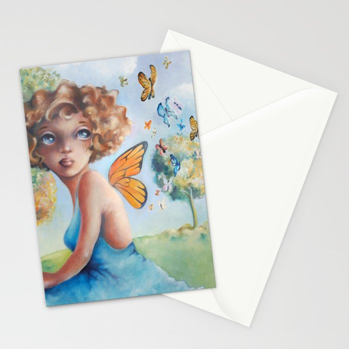 Amelia, Courage to Fly Stationery Cards