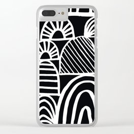opening doors Clear iPhone Case