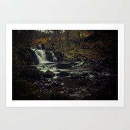 A River runs through it Art Print