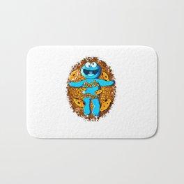 Funny Cookies Bath Mat