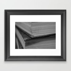 Books Framed Art Print