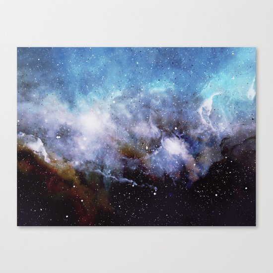 Over the Stars Canvas Print