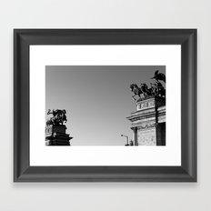 Heroes Framed Art Print