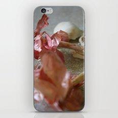 Garlic Scape iPhone & iPod Skin