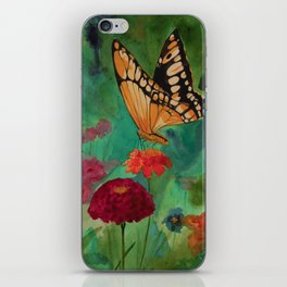 Summer Butterfly iPhone Skin