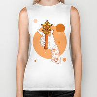 sailor venus Biker Tanks featuring Venus by scoobtoobins