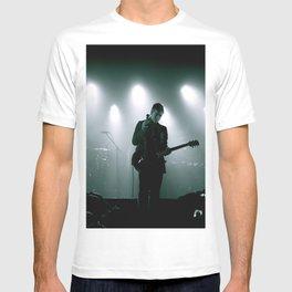Paul Banks / Interpol at Terminal 5 New York City B&W T-shirt
