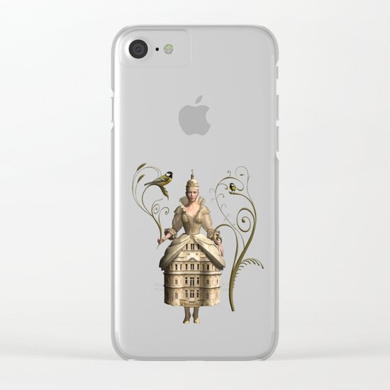 Kingdom of her own Clear iPhone Case