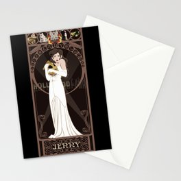 Jenny Nouveau - The Rocketeer Stationery Cards
