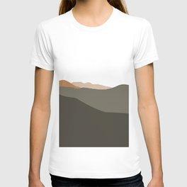 Mountains peaks T-shirt