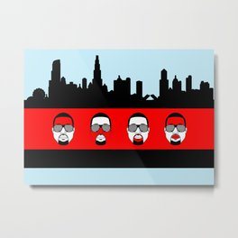 Mr. West Metal Print