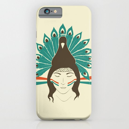 The princess and the peacock iPhone & iPod Case