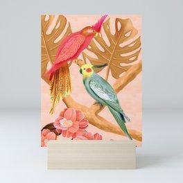 Parrot Paradise Print Mini Art Print