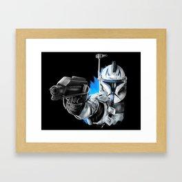 Rex...Captain Rex Framed Art Print
