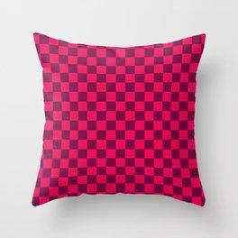 Checkered Pattern IV Throw Pillow