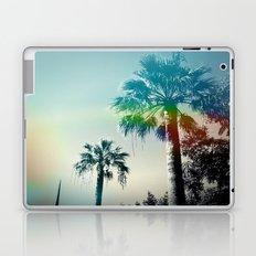 Palm trees of Barcelona Laptop & iPad Skin