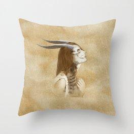 Horn 2 Throw Pillow