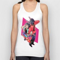 80s Tank Tops featuring 80s Fashion by kami dog