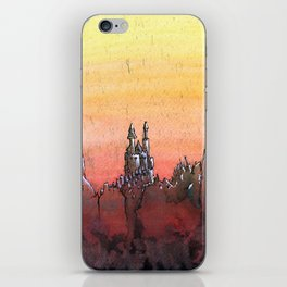 Mountain Stronghold iPhone Skin