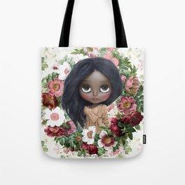 ERREGIRO JANET FLOWER CROWN Tote Bag