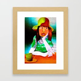 Chloe's Regret Framed Art Print