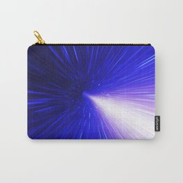 High energy particles traveling through space-time Carry-All Pouch