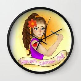 Shelley's Crochet Olé Wall Clock