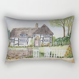 The picket fence Rectangular Pillow