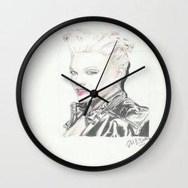 PINK! Wall Clock