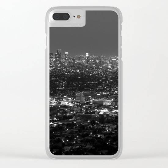 LA Lights No. 2 Clear iPhone Case