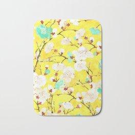 Cherry Blossom #society6 #painting #buyart Bath Mat