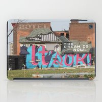 detroit iPad Cases featuring Detroit by Dylan McPhee
