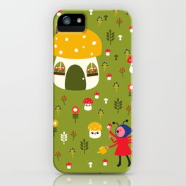 Worker Bugs iPhone Case