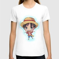 luffy T-shirts featuring Luffy by Midnight Tardis