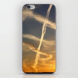 Sky Writing iPhone Skin