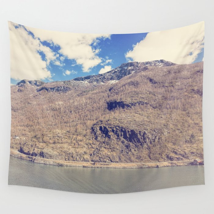 Sognefjord IV Wall Tapestry