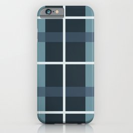 Kindred Plaid Ocean iPhone Case
