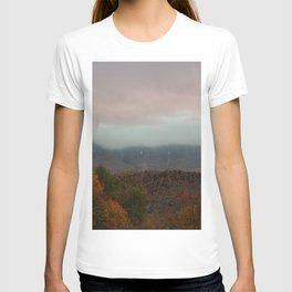 Fog Rolling Over The Hills T-shirt
