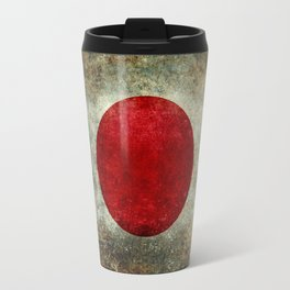 National flag of Japan - Super Grunge Travel Mug