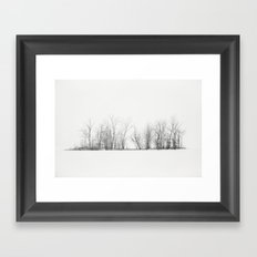Pure Winter Framed Art Print