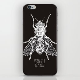 TROUBLE RIPPER / TROUBLE FLY iPhone Skin