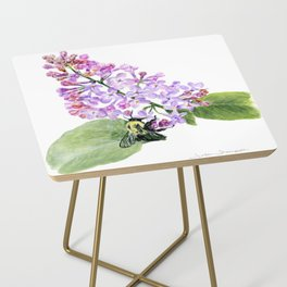 Lilac Love by Teresa Thompson Side Table