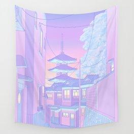Pastel Memories Wall Tapestry