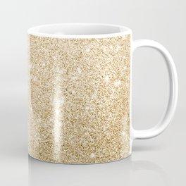 Modern abstract elegant chic gold glitter Coffee Mug