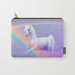 Unicorn and Rainbow Carry-All Pouch