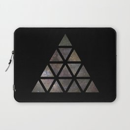 Galaxy Triangular Multicolor Laptop Sleeve