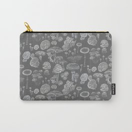 Mycology Grey Carry-All Pouch