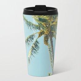 Kenolio Beach Hawaiian Coconut Palm Trees Kīhei Maui Hawaii Travel Mug