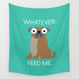 The Pugly Truth Wall Tapestry